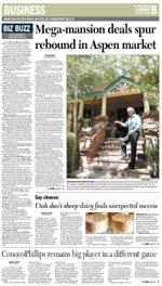 Mega-mansion Deals Spur Rebound in Aspen Market, GJS Image