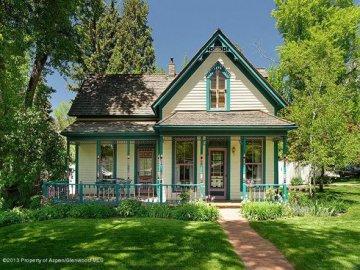 232 E. Bleeker St, Aspen, CO 81611: Historic Victorian Redeveloped into Townhome/Duplex Property Thumbnail