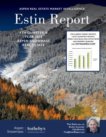Yodel from the Mountains: A brief Pre-Christmas 2015 YTD Aspen Real Estate Market Summary Image