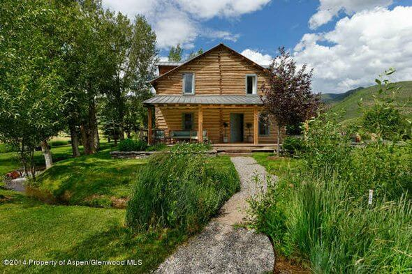 """Aspen """"Cowboy's Cabin"""" with 41 Acres Sells for $4.45M/$2,814 Sq Ft Image"""