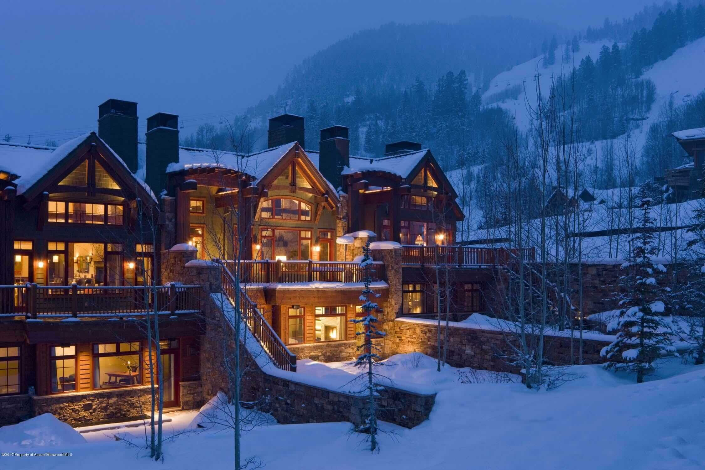 Aspen Ski-In/Ski-Out Townhome at 917 S Mill St Closes at $25.5M/$4,018 SF Part Furn Image