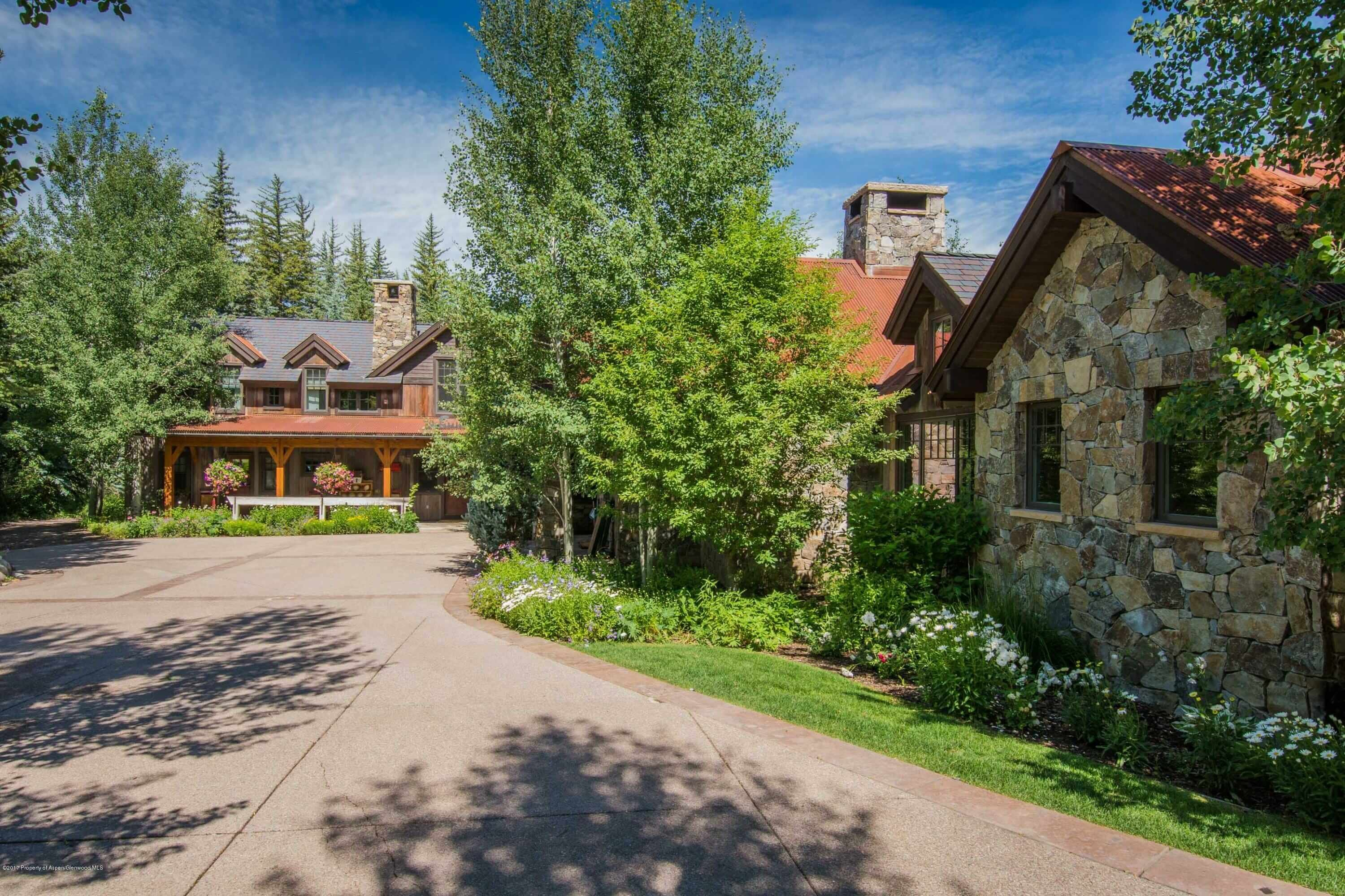 Old Snowmass, CO Ranch on 23 Acres Sells for $11.5M/$2,298 Sq Ft Furnished Image