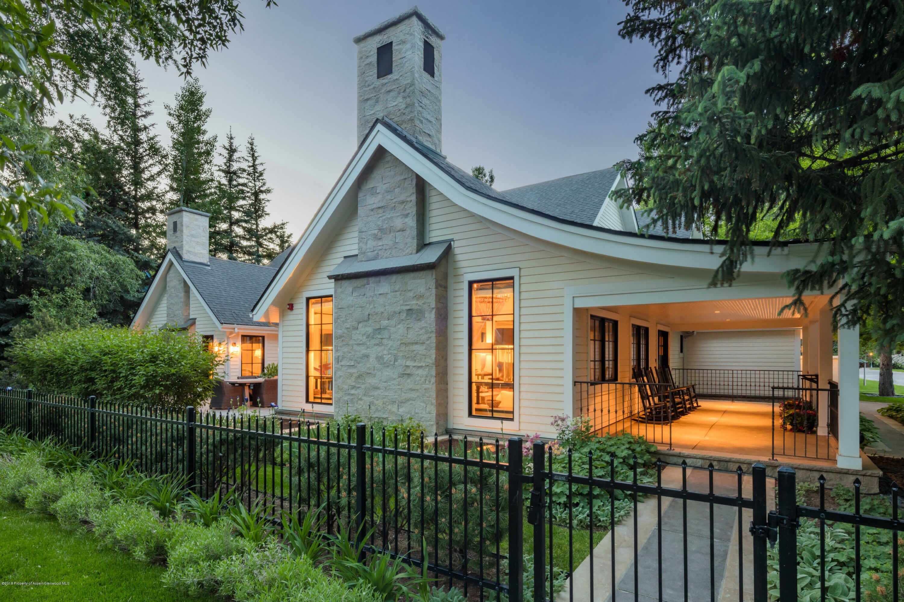 2011 Re-modeled West End Aspen Victorian Home Sells at $17.5M/$2,968 Sq Ft Image
