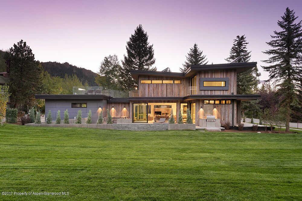 Contemporary Aspen CO Spec Home at 905 E Hopkins Sells at $13M/$2,665 SqFt Image