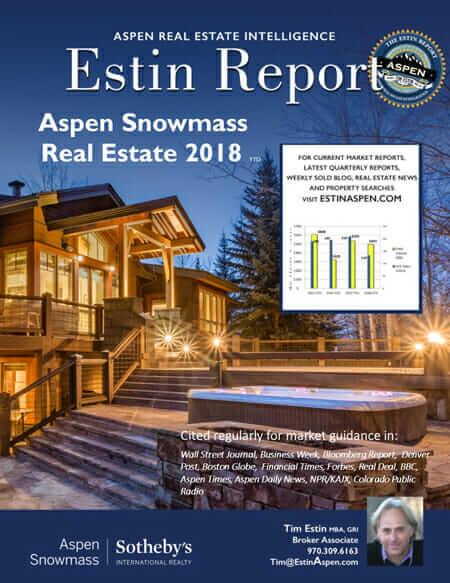 Estin Report: 2018 YTD & 2017 YR Aspen Snowmass Real Estate Market Report Image
