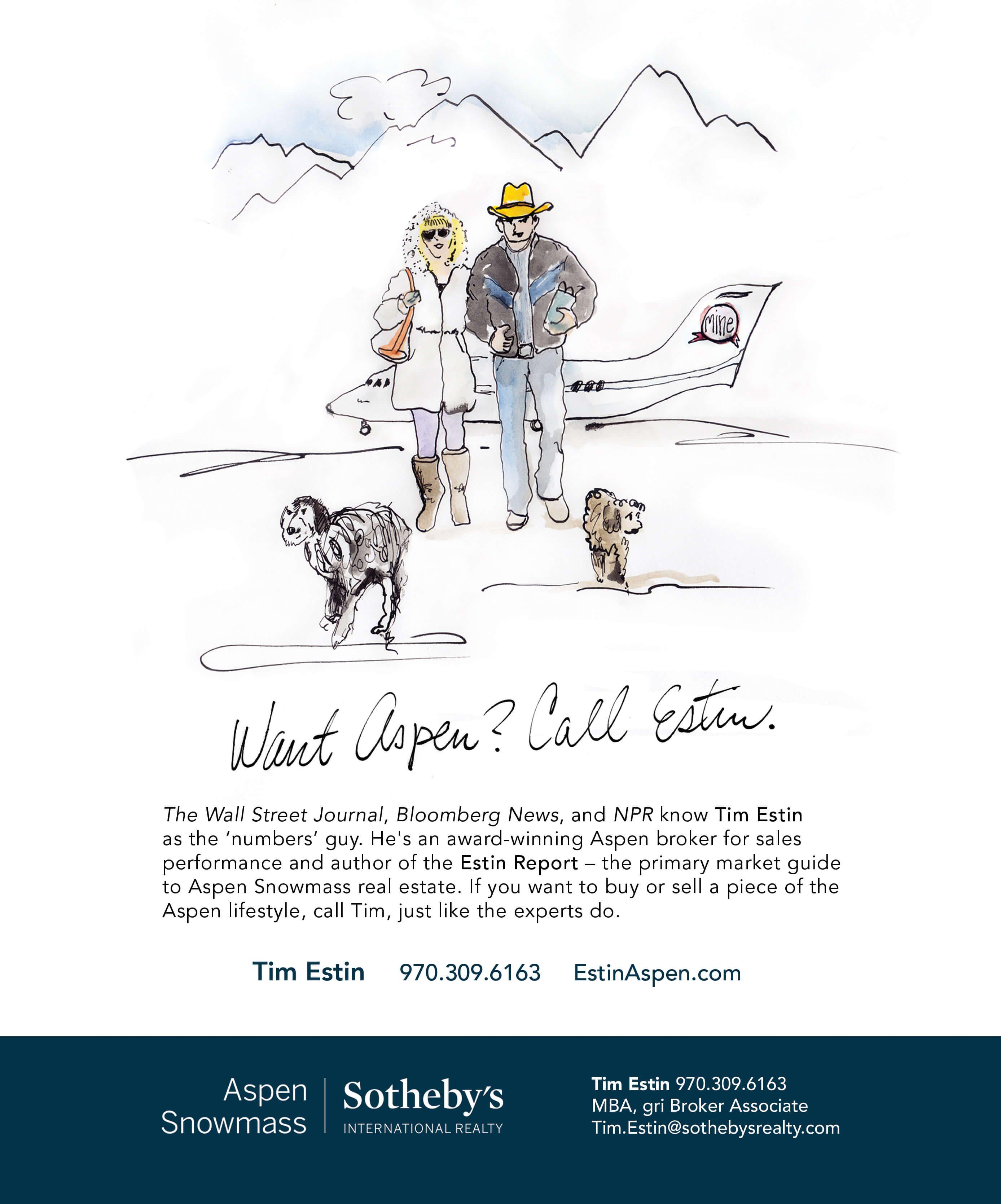 Want Aspen? Call Estin. Image