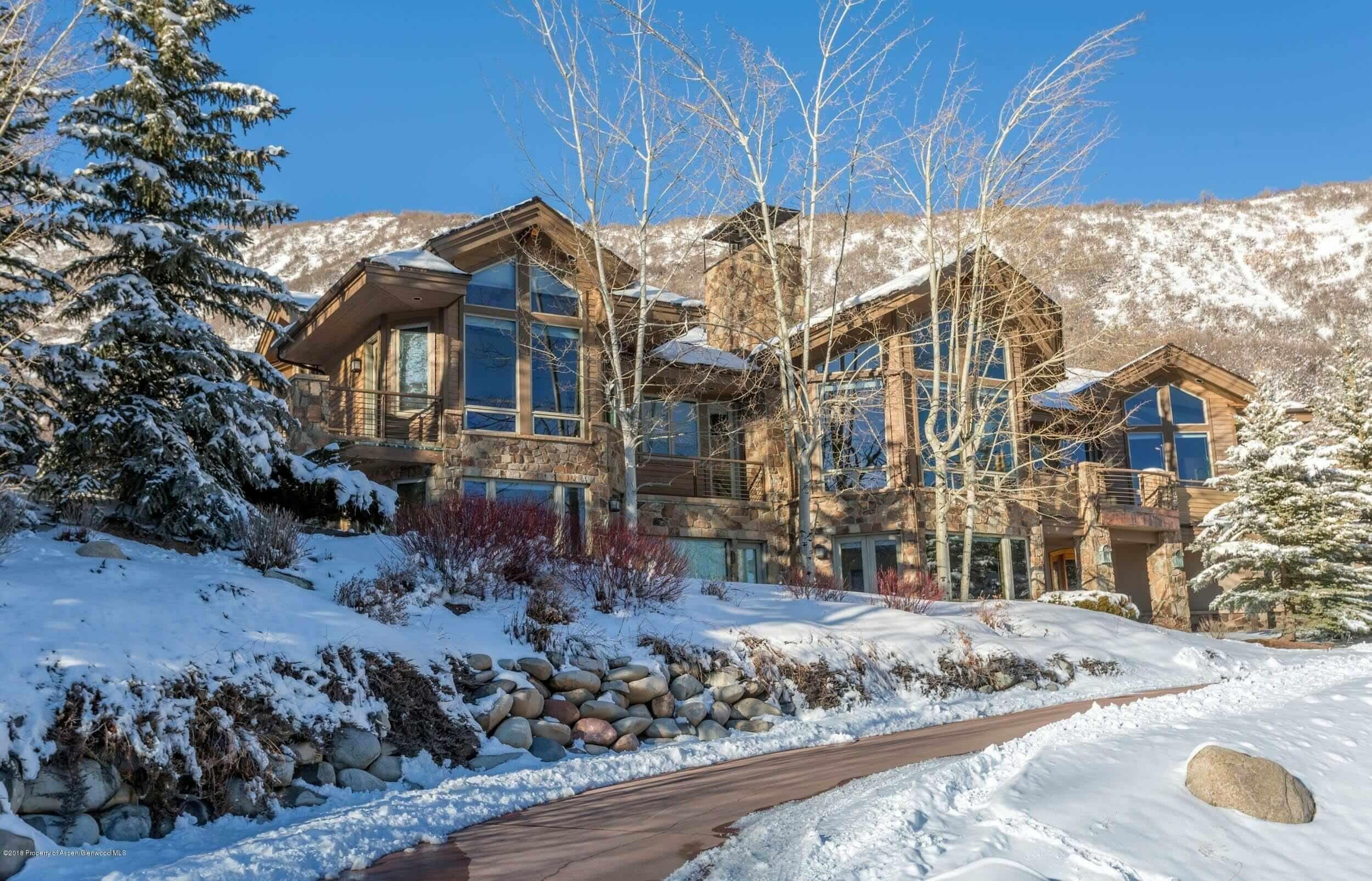 Snowmass Village Horse Ranch Sub. Custom Home Sells at $3.725M/$716 Sq FT Image