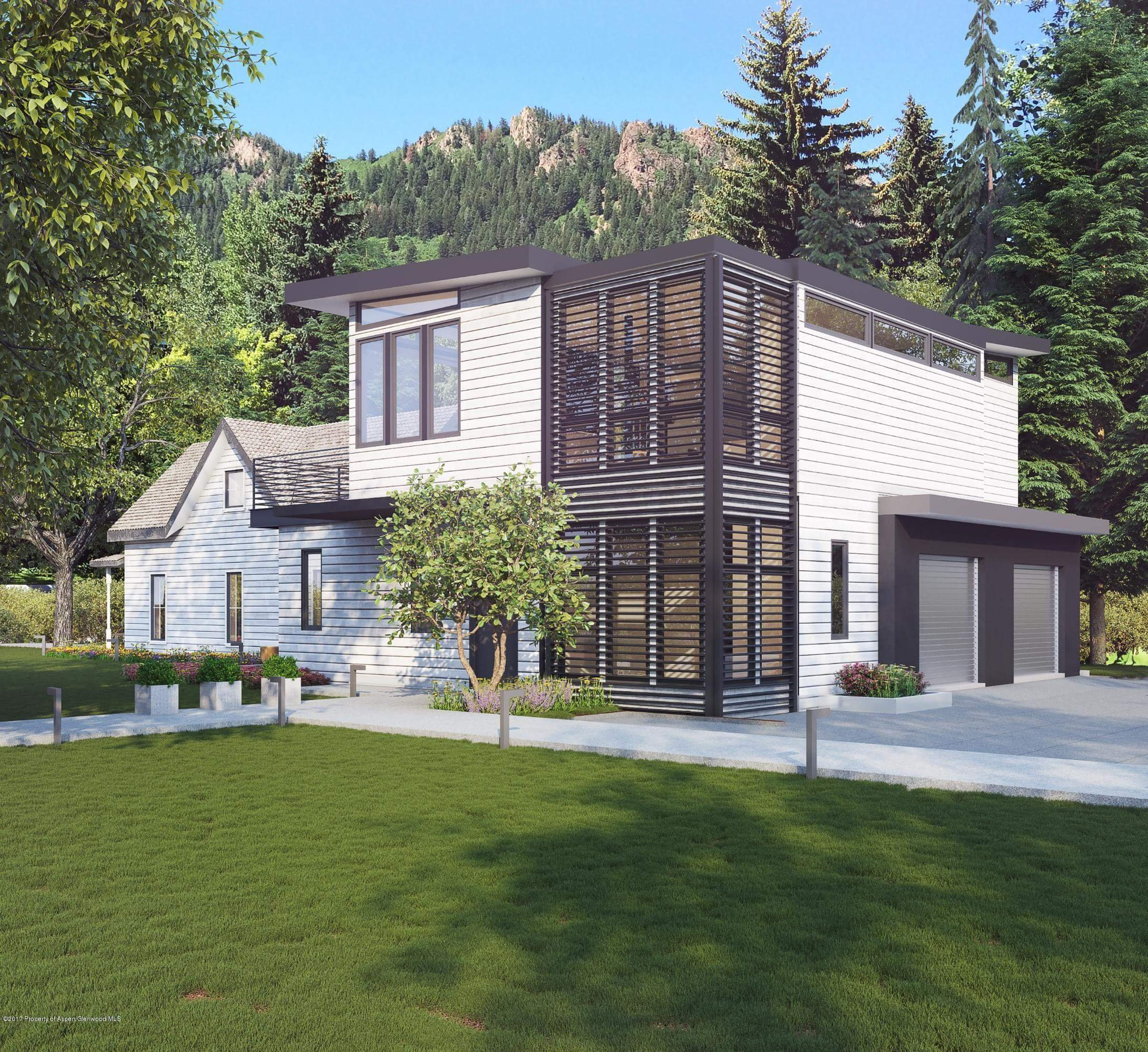 New 203 N Monarch St Aspen Townhome Closes at $8.995M/$2,637 sq ft Unfurnished Image