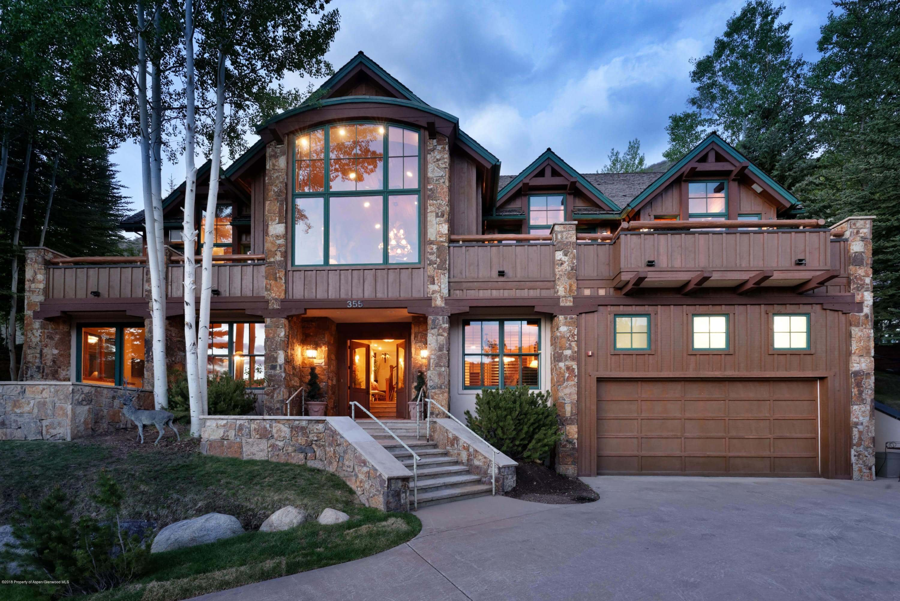 355 Silverlode Dr with Big Aspen Mountain and Sunset Views Sells for $5.5M/$1,255 SqFt Image