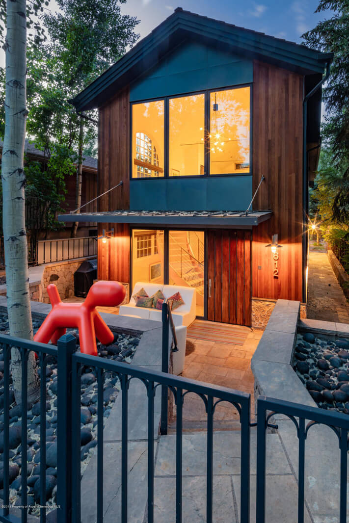 1995 Built/2011 Remodeled West End Aspen Home at 612 W Francis Sells at $5.375M/$1,455 SF Part Furnished Image