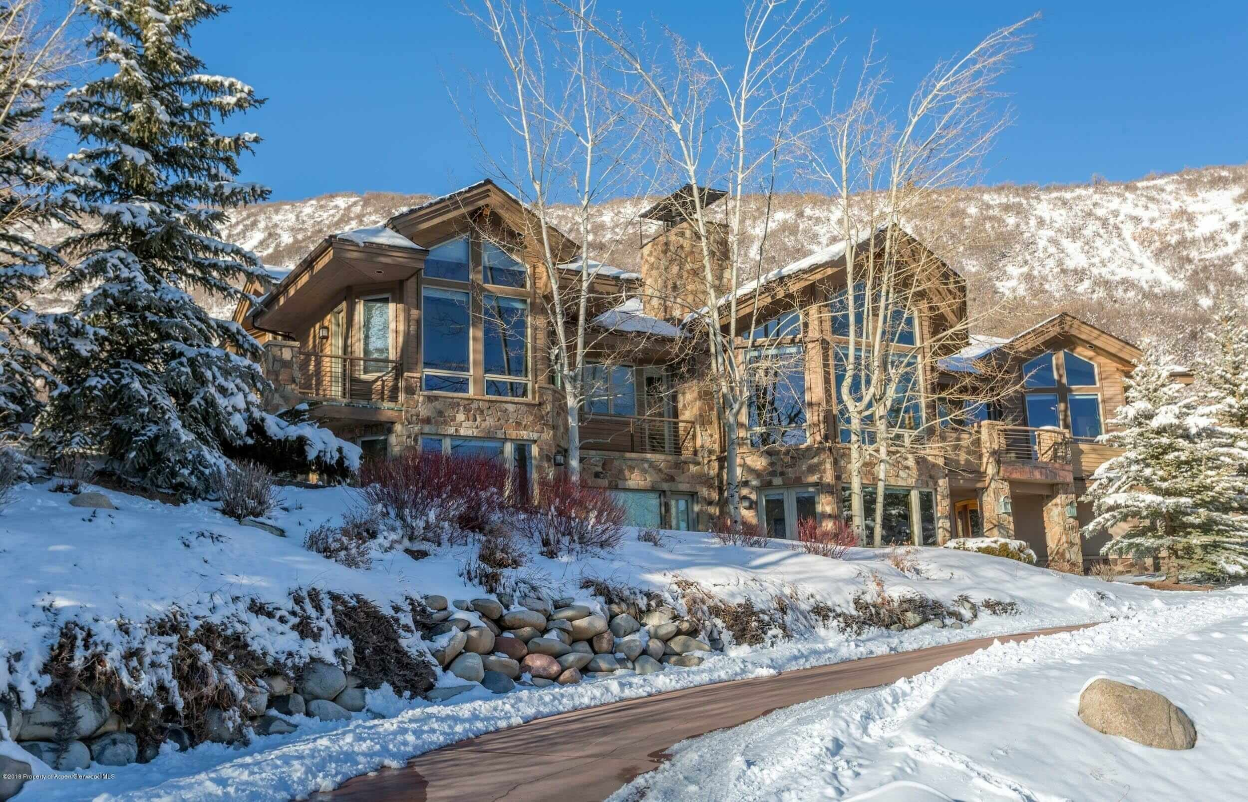 Snowmass Village Horse Ranch Sub. Custom Home Sells at $3.725M/$716 Sq FT Image