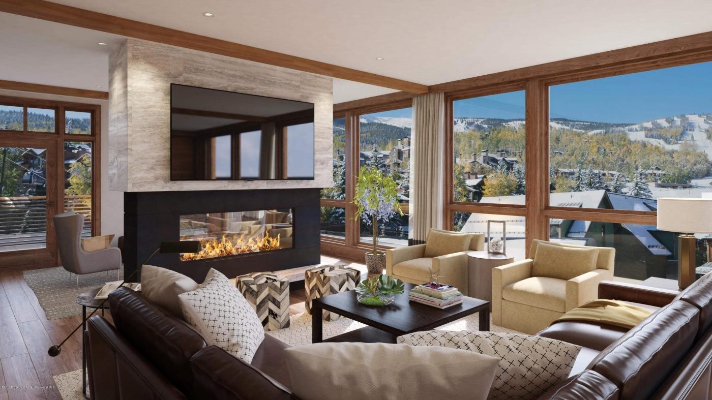Snowmass Base Village New Built Lumins Condo Closes at $4.4M/$1,571 SF Image