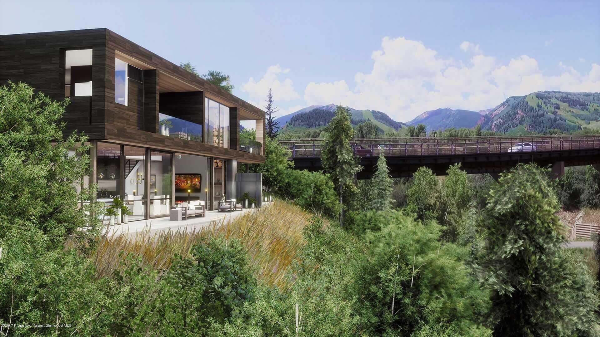 New 3-Home Development Project at Aspen's W. Hwy 82 Entry & Castle Creek Bridge Sells Image