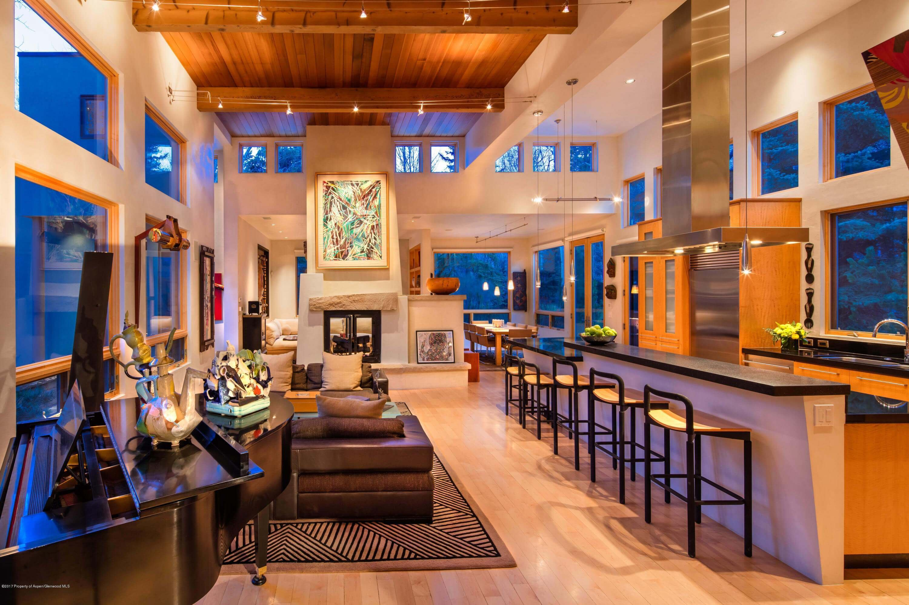 Modern 2004 Aspen Home on Red Butte Dr Closes at $6.1M/$1,017 Sq Ft Unfurnished Image
