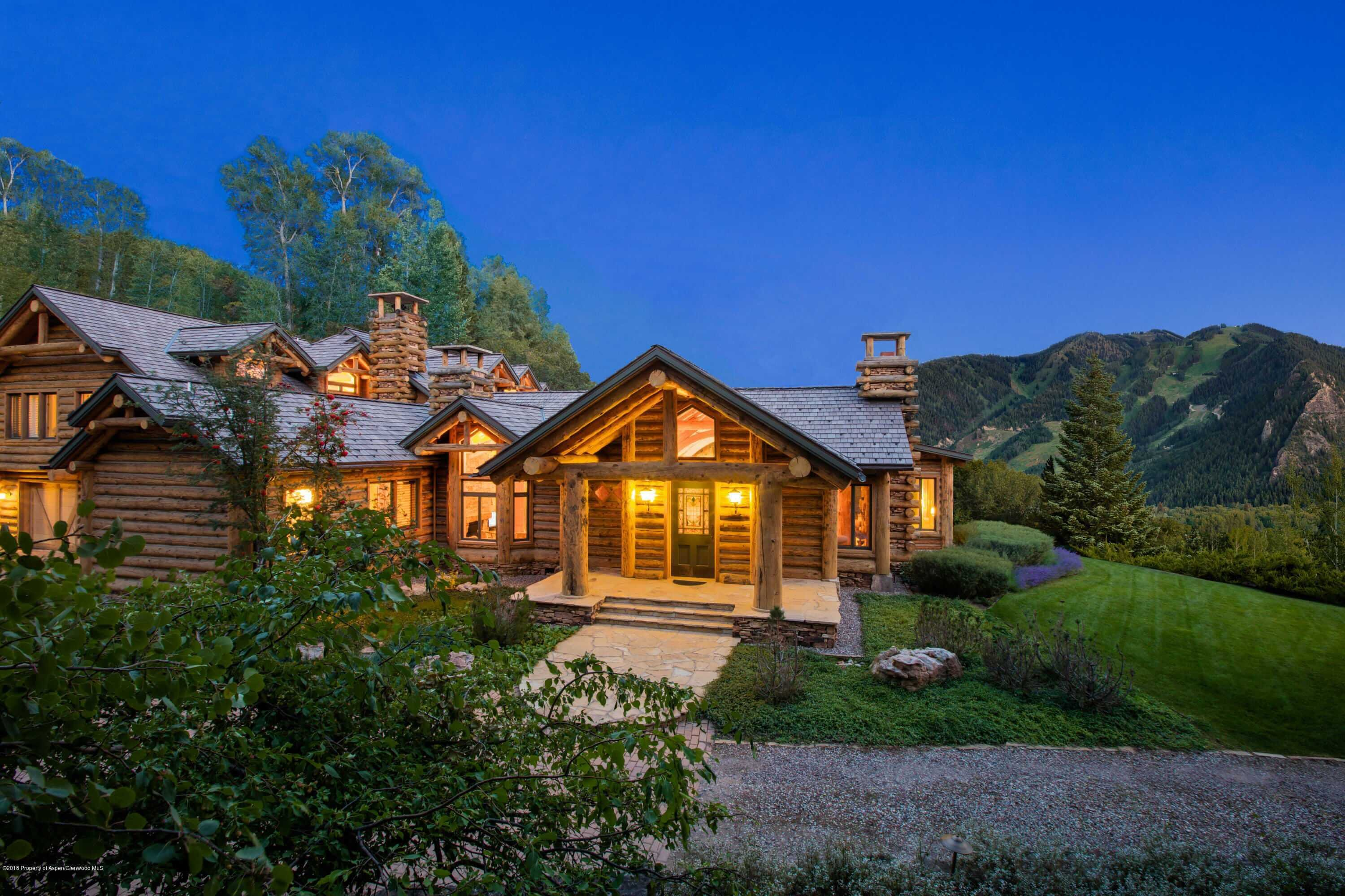 Log Home on Prestigious Willoughby Way Sells for $13.1M/$1,791 Sq Ft After 1,100 Days on Market Image