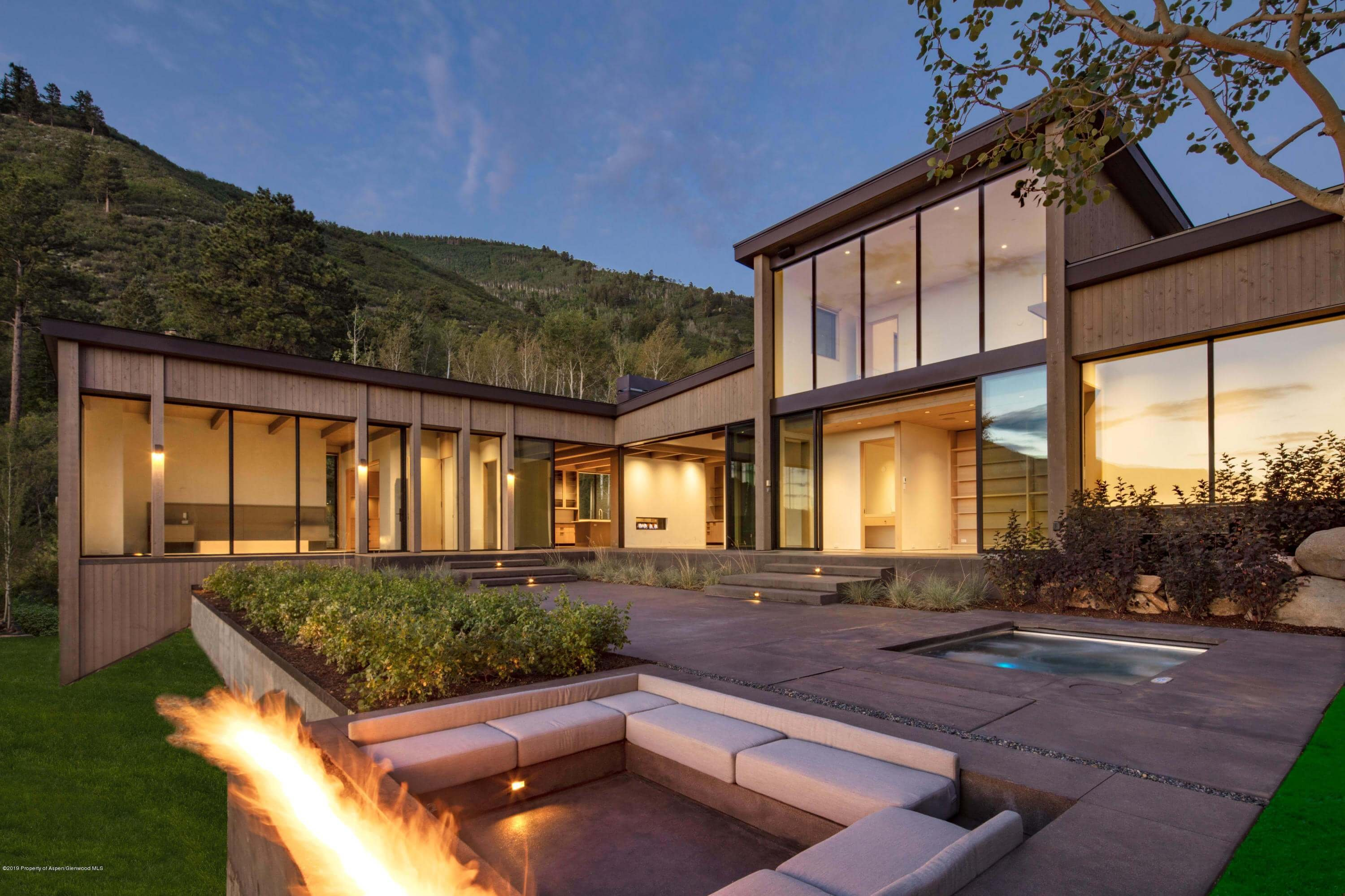 2019 Built East Aspen Contemporary Home at 287 McSkimming Rd Sold $14.4M/$2,271 SF Unfurnished Image