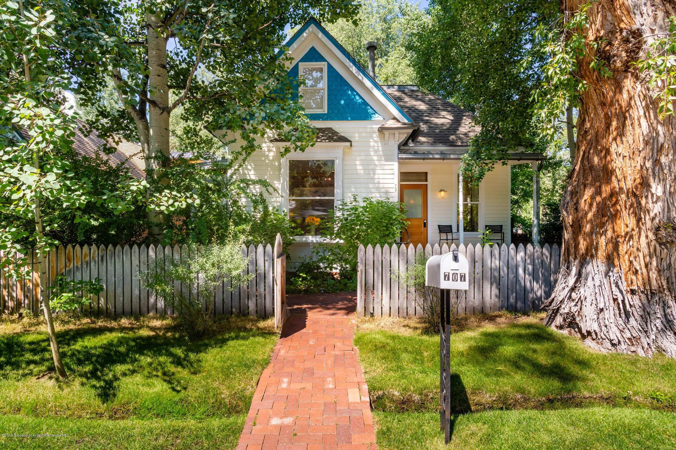 West End Aspen Victorian 1888/2010 remodeled Home at 707 N Third Street Sells for $6MM Image