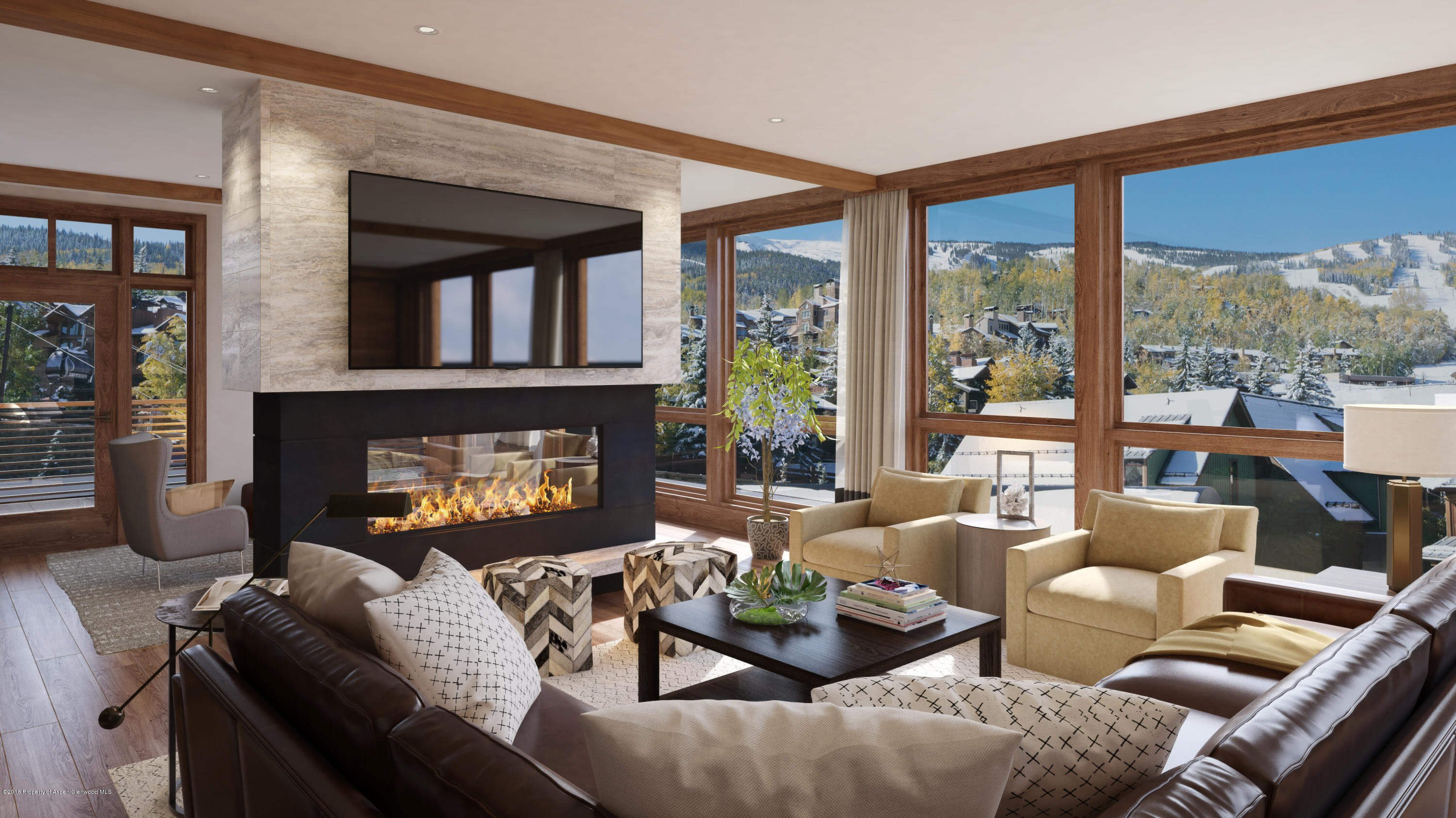Snowmass Base Village New Built Lumins Condo Closes at $4.4M/$1,571 SF Image