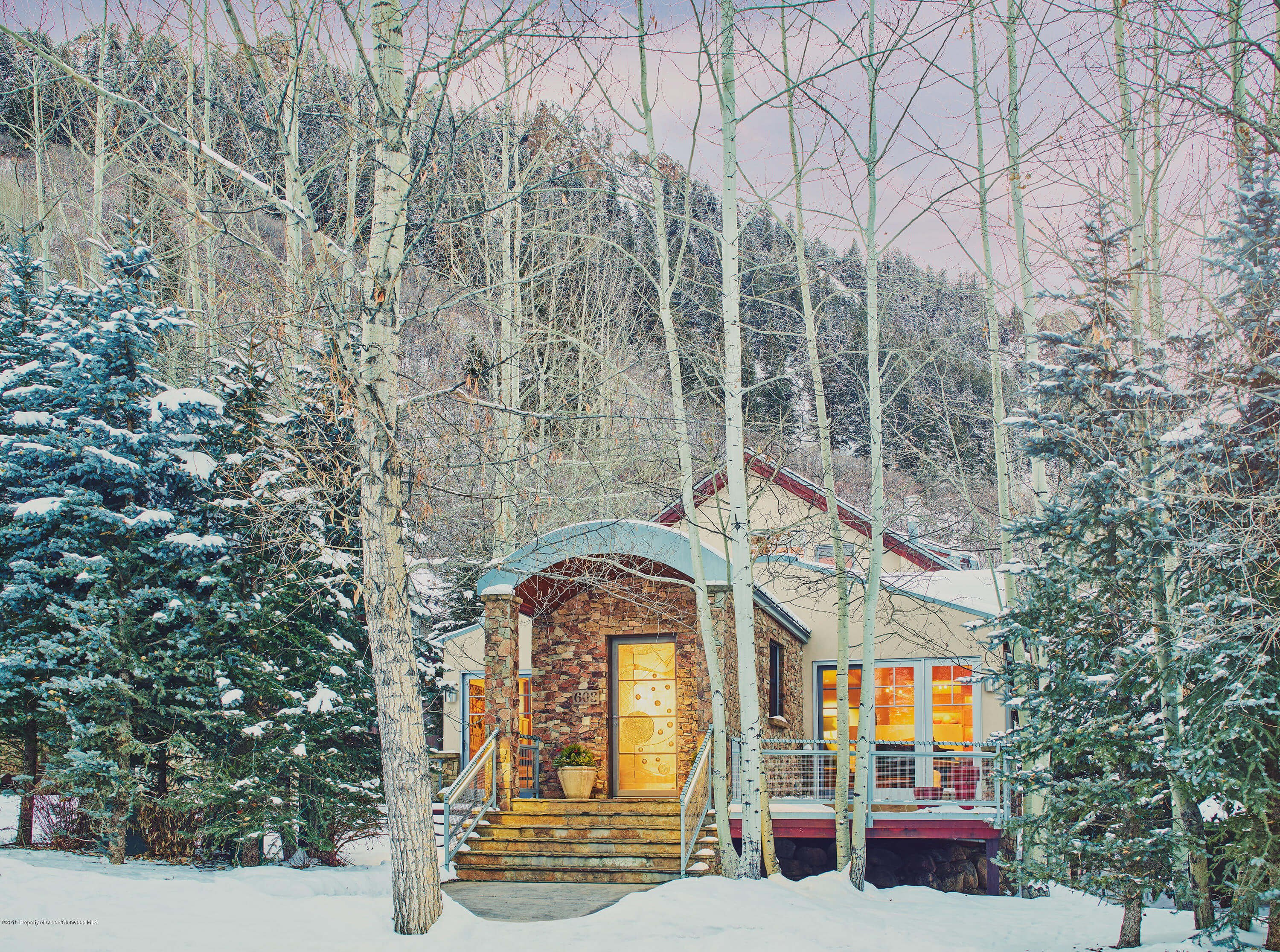 Central Core Aspen Home at 603 S Garmisch St Sells for $14.3M/$2,481 SF Image