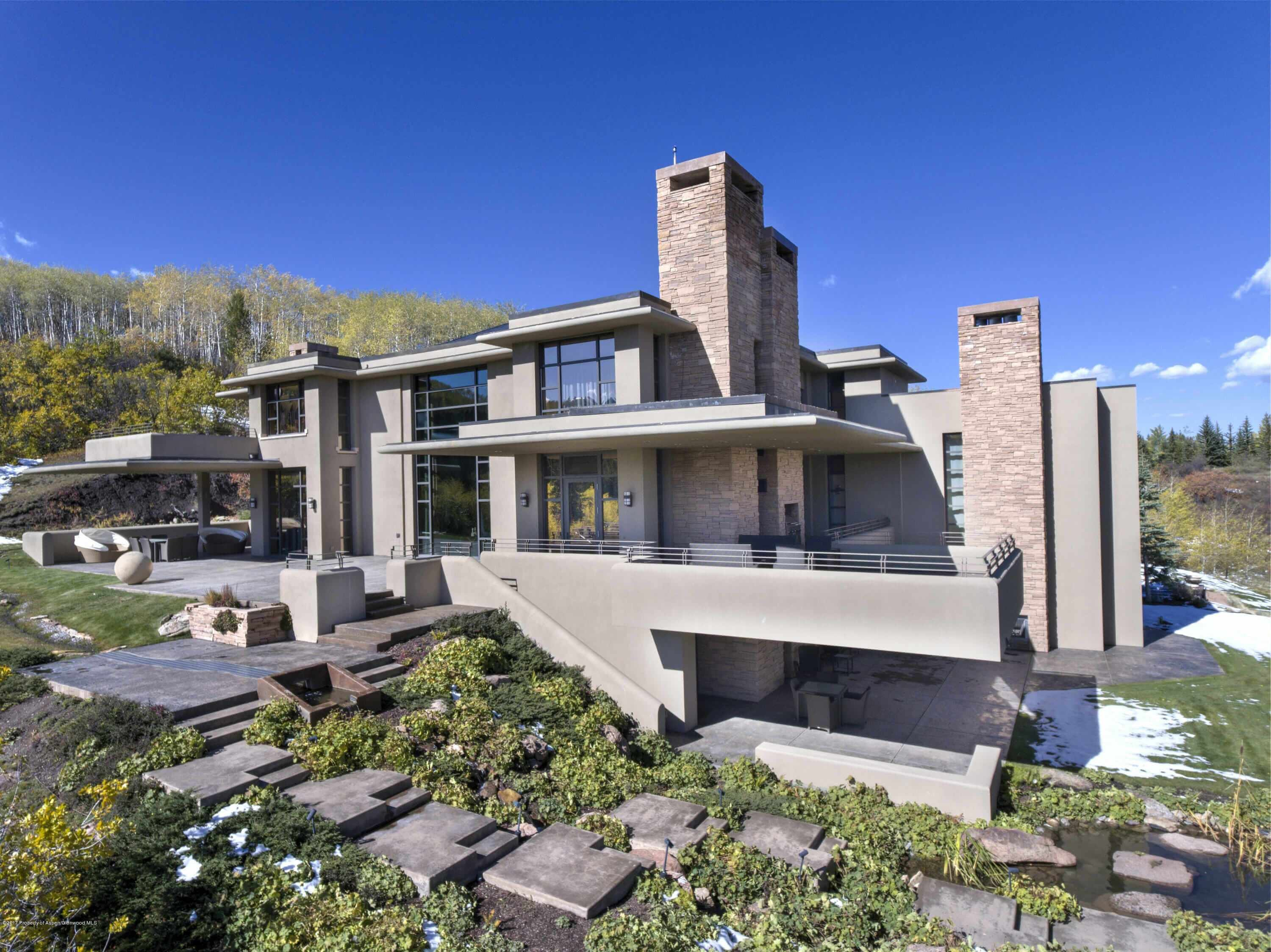 2006 Built Contemporary Aspen Estate in Eagle Pines Closes at $19.5M/$1,538 Sq Ft Image