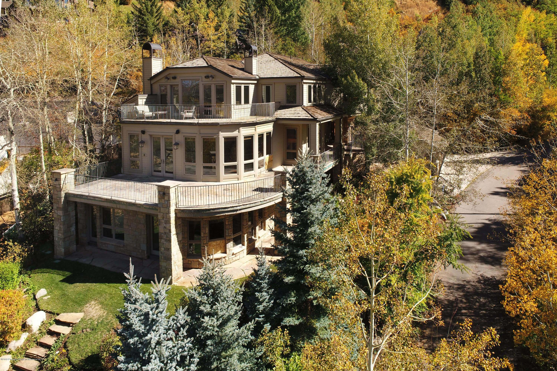 1987 built/2000 remodeled 176 Mountain Laurel Aspen Home Sells for $4.7MM/$891 SF Unfurn. Image