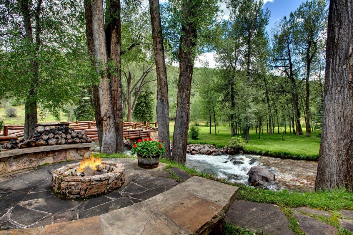 6458 Snowmass Creek – Beautiful 33 Acre River Ranch in Old Snowmass, CO – Sells for $6.75MM/$2,195 SF Part Furn Image