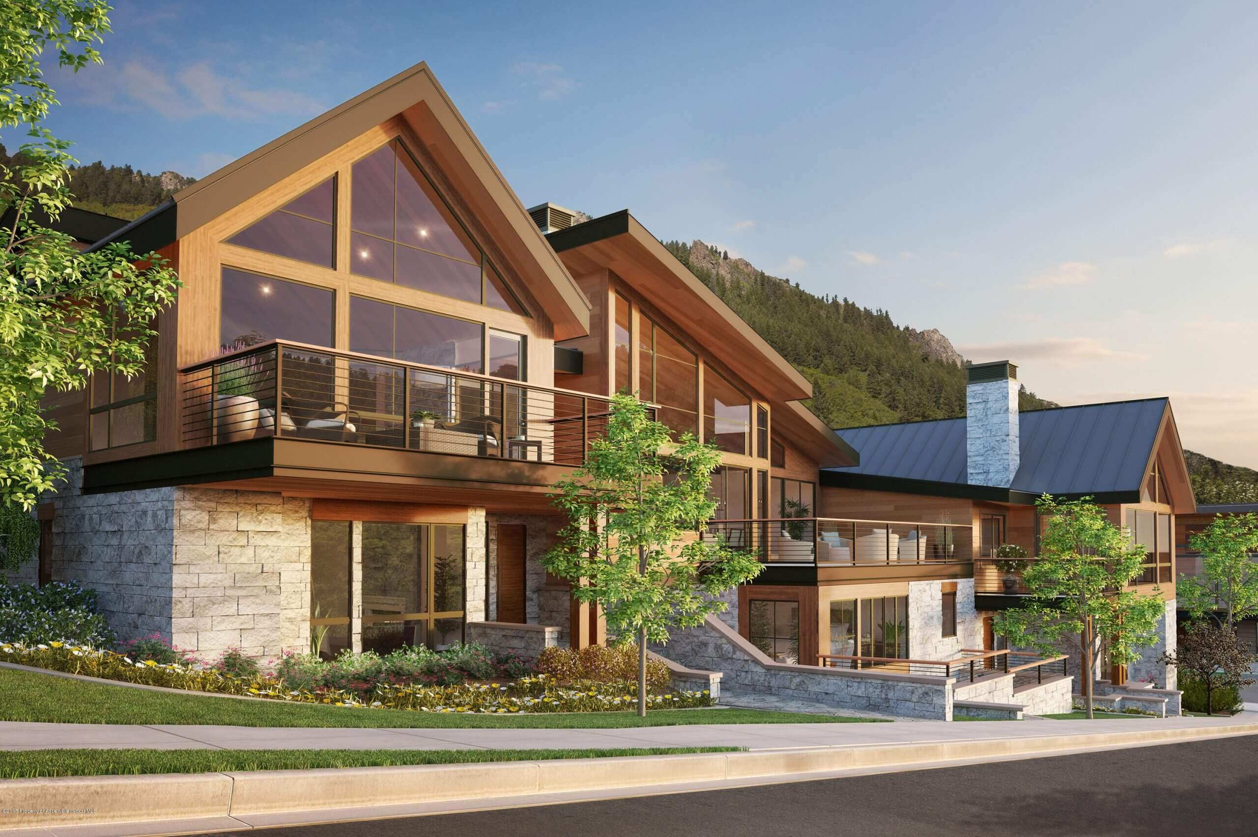 Three OneAspen Townhomes at Lift 1A Base Close at $9.5M/$2,359SF to $11M/$2,731SF Unfurnished Image