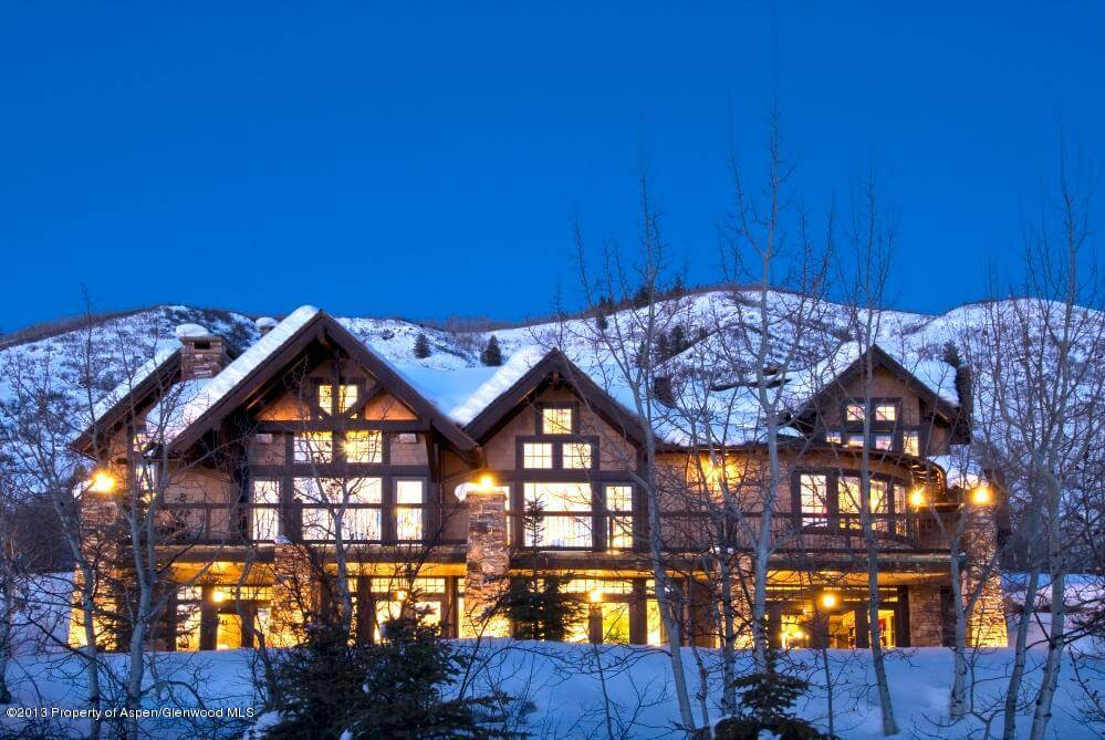 Aspen 8-Bdrm Home at 705 S. Spruce Sells for $12.2M/$1,527 SF Furn Image