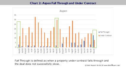 Estin Report Mar 2020 & YTD Aspen Snowmass Real Estate Market Report Snapshot Image