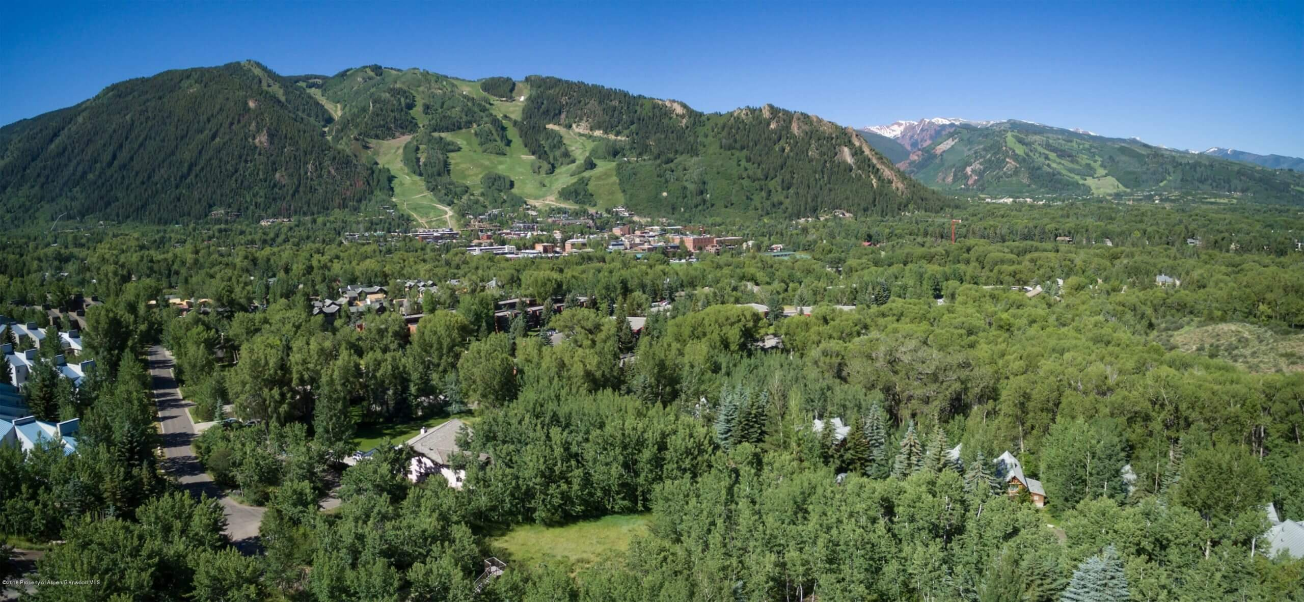 Walk to Aspen Town: Smuggler Area 1- Acre Vacant Lot at 40 Spruce Court Sells at $5.5M Image
