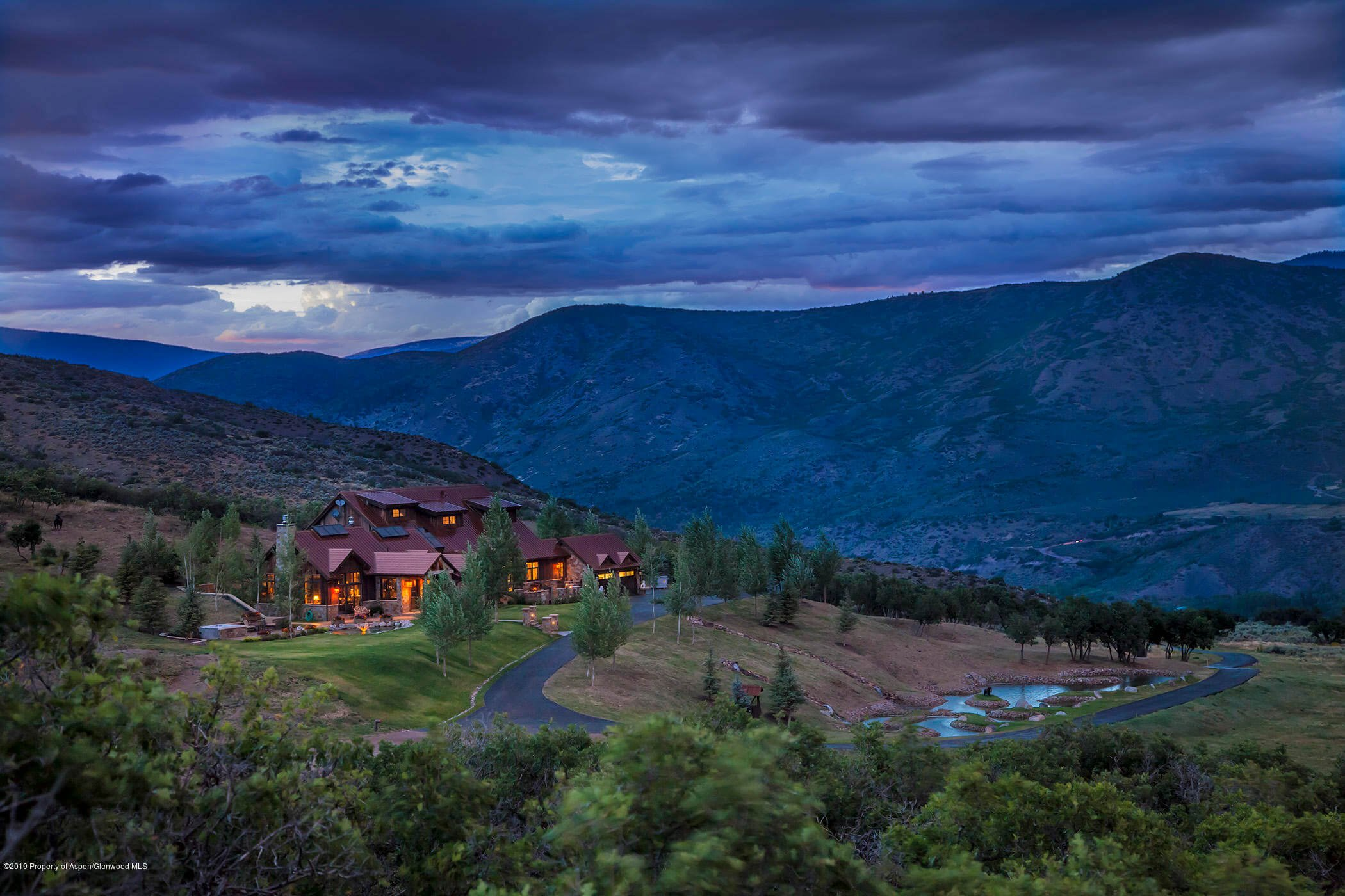 2006 Built Old Snowmass Ranch on 149 Acres Sells at $17.6M/$2,647 SF Image