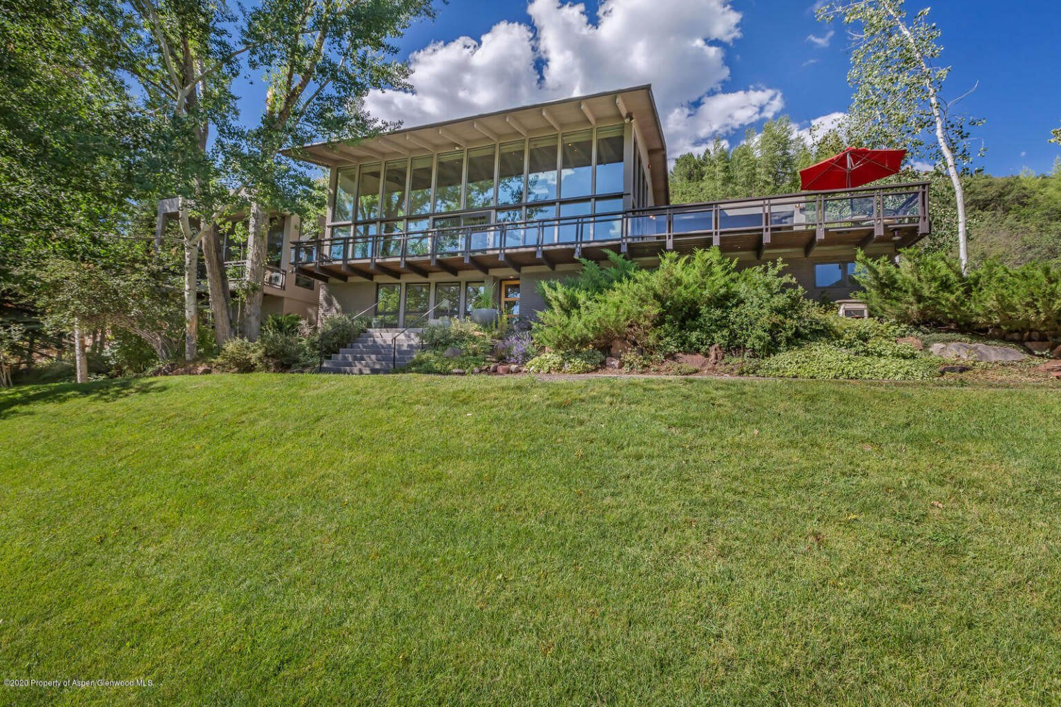 1967 Built/1996 Remodeled Red Mountain Home at 239 Willoughby Way Closes at $12M/$2,378 SF Furn Image