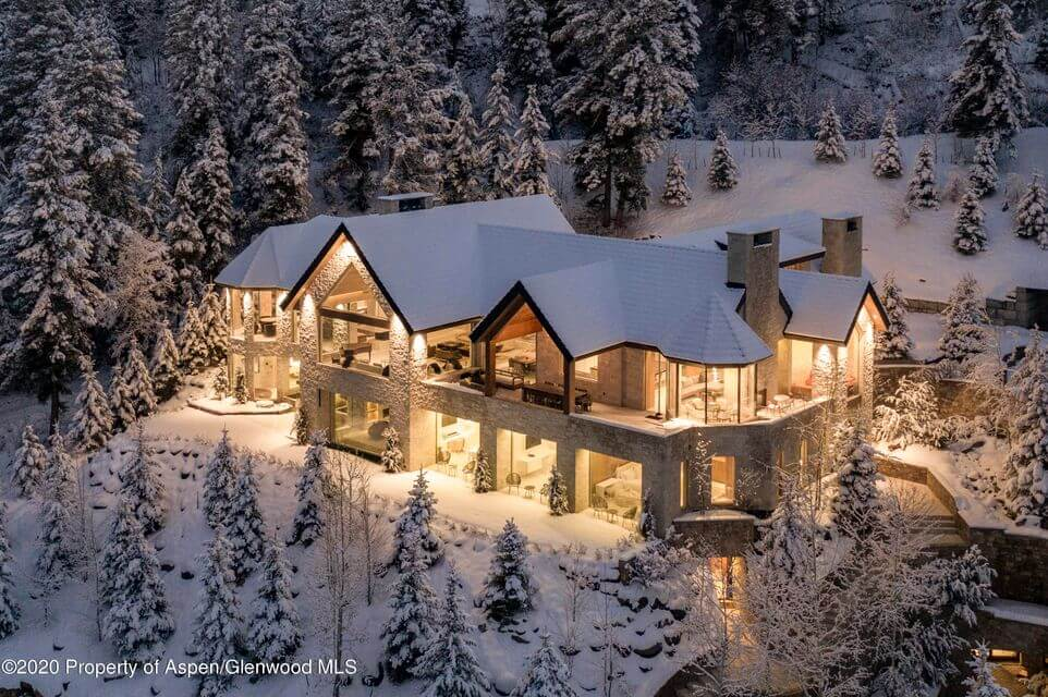 New $75MM Aspen Mega Estate Home Listing Comes with Bowling Alley and Indoor Pool Image