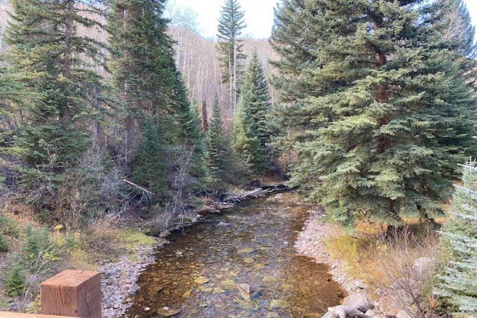 544 Acres & the River Runs Through It: 8500 Snowmass Crk Rd in Old Snowmass Sells at $14.75M/$2,191 SF Furn. Image