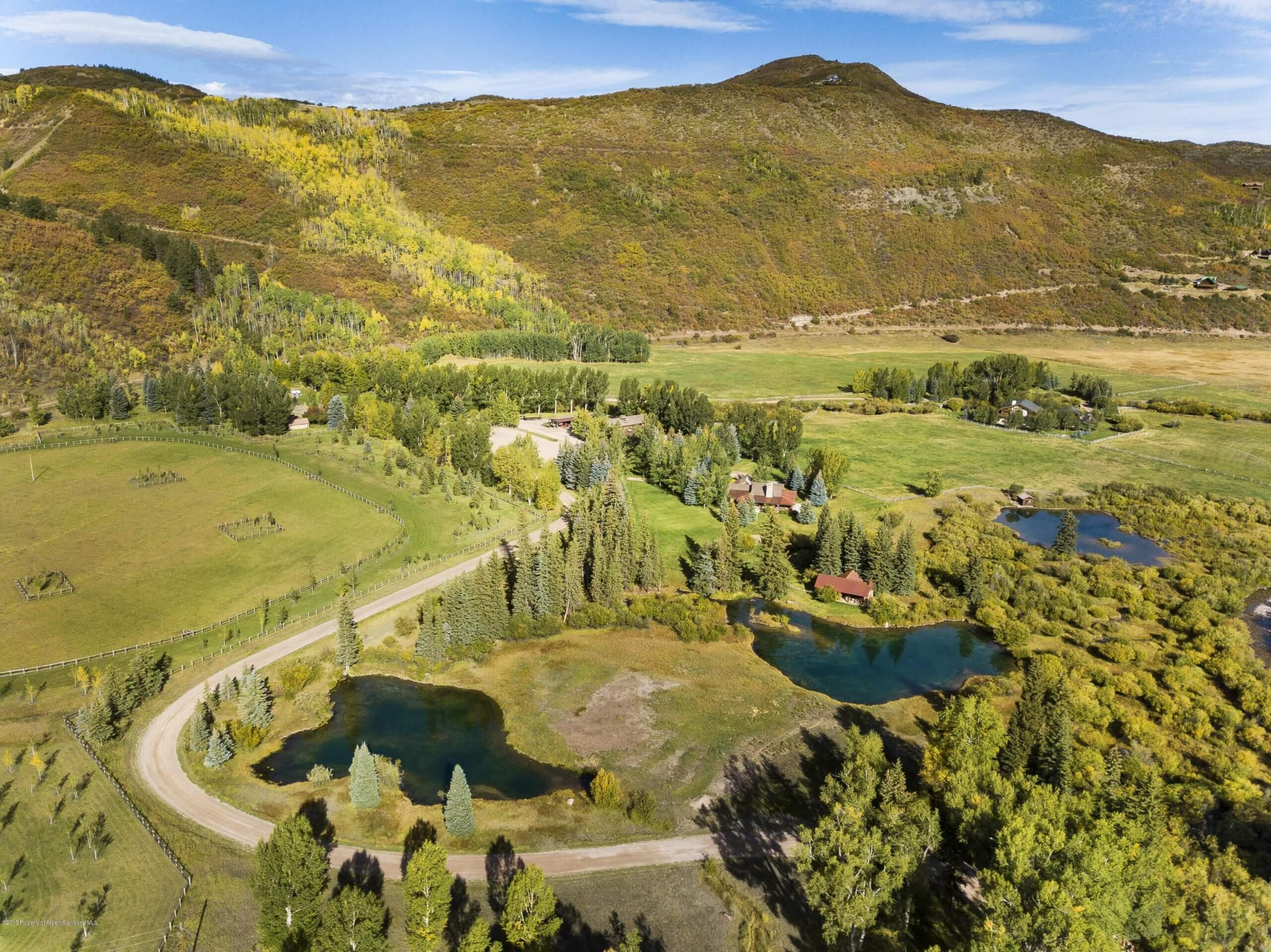 Old Snowmass Ranch on Snowmass Creek with 78 Acres Sells at $7.2M/$978 SF Unfurn Image