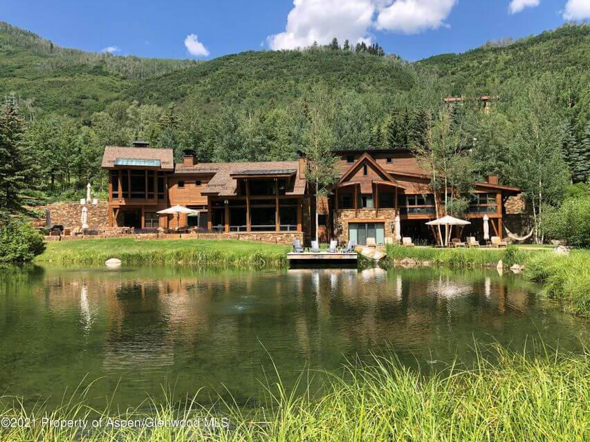 55 Hall Dr Two Miles up Castle Creek Sells for $23M/$3,033 SF Image
