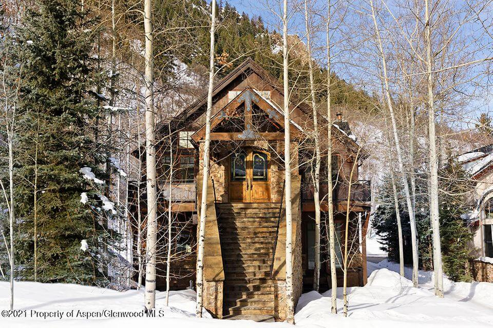 In-town Aspen Home at 615 S. Garmisch Closes at $19.75M/$3,401 SF Furn Image