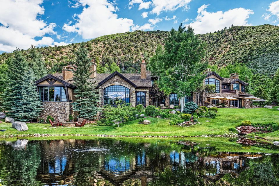 Woody Creek Estate at 120 Running Mare Rd sells for $19.75M/$1,620 Sq Ft Furn Image
