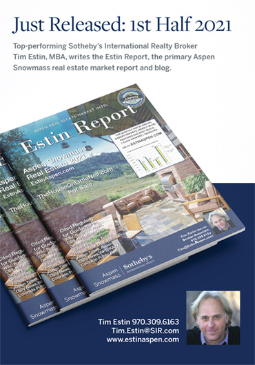 Estin: Looking back on the last 6 months to get ahead of the Aspen real estate market, Aspen Daily News Image